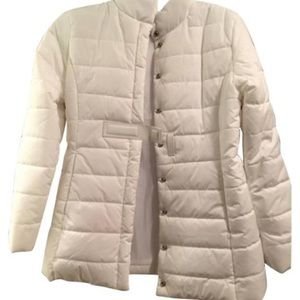 Mods International white puffer coat